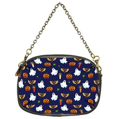 Halloween Pattern Chain Purses (two Sides)  by Valentinaart