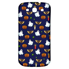 Halloween Pattern Samsung Galaxy S3 S Iii Classic Hardshell Back Case by Valentinaart