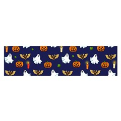 Halloween Pattern Satin Scarf (oblong) by Valentinaart