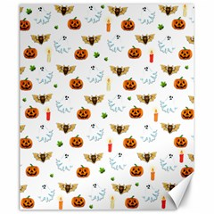 Halloween Pattern Canvas 20  X 24   by Valentinaart