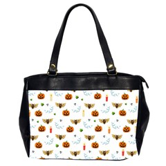 Halloween Pattern Office Handbags (2 Sides)  by Valentinaart