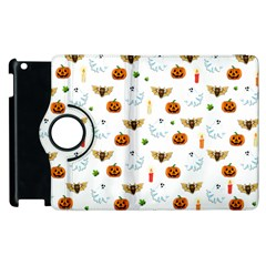 Halloween Pattern Apple Ipad 2 Flip 360 Case