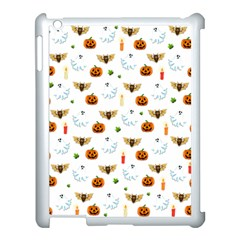 Halloween Pattern Apple Ipad 3/4 Case (white) by Valentinaart