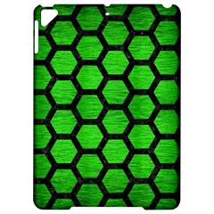 Hexagon2 Black Marble & Green Brushed Metal (r) Apple Ipad Pro 9 7   Hardshell Case by trendistuff