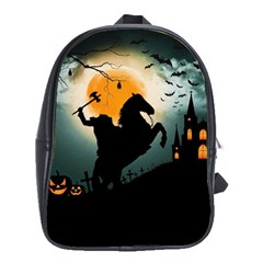 Headless Horseman School Bag (large) by Valentinaart