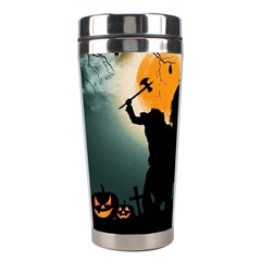 Headless Horseman Stainless Steel Travel Tumblers by Valentinaart