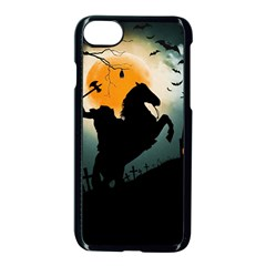 Headless Horseman Apple Iphone 7 Seamless Case (black) by Valentinaart