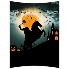 Headless Horseman Back Support Cushion by Valentinaart