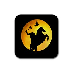 Headless Horseman Rubber Coaster (square)  by Valentinaart