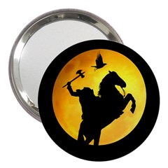 Headless Horseman 3  Handbag Mirrors by Valentinaart