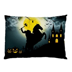 Headless Horseman Pillow Case by Valentinaart