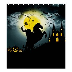 Headless Horseman Shower Curtain 66  X 72  (large)