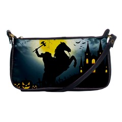 Headless Horseman Shoulder Clutch Bags by Valentinaart