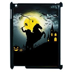 Headless Horseman Apple Ipad 2 Case (black) by Valentinaart