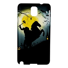 Headless Horseman Samsung Galaxy Note 3 N9005 Hardshell Case by Valentinaart
