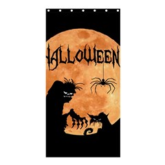 Halloween Shower Curtain 36  X 72  (stall)