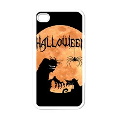 Halloween Apple Iphone 4 Case (white)