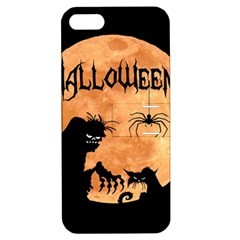Halloween Apple Iphone 5 Hardshell Case With Stand by Valentinaart