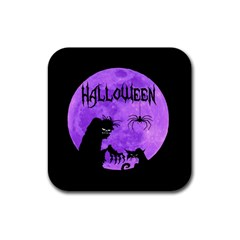 Halloween Rubber Square Coaster (4 Pack)