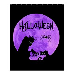 Halloween Shower Curtain 60  X 72  (medium)  by Valentinaart