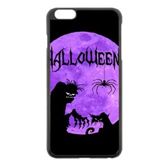 Halloween Apple Iphone 6 Plus/6s Plus Black Enamel Case