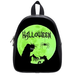 Halloween School Bag (small) by Valentinaart