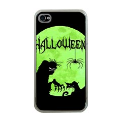 Halloween Apple Iphone 4 Case (clear) by Valentinaart