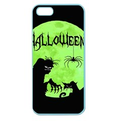 Halloween Apple Seamless Iphone 5 Case (color)