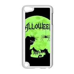 Halloween Apple Ipod Touch 5 Case (white) by Valentinaart