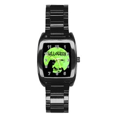 Halloween Stainless Steel Barrel Watch