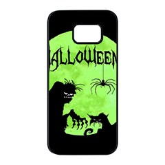 Halloween Samsung Galaxy S7 Edge Black Seamless Case