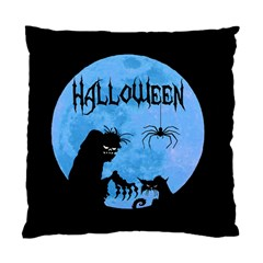 Halloween Standard Cushion Case (two Sides) by Valentinaart