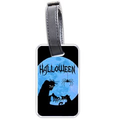 Halloween Luggage Tags (two Sides) by Valentinaart