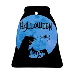 Halloween Bell Ornament (two Sides) by Valentinaart