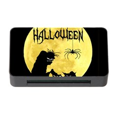 Halloween Memory Card Reader With Cf by Valentinaart