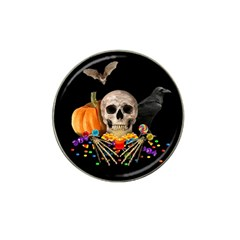 Halloween Candy Keeper Hat Clip Ball Marker (4 Pack) by Valentinaart