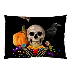 Halloween Candy Keeper Pillow Case by Valentinaart