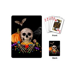 Halloween Candy Keeper Playing Cards (mini)  by Valentinaart