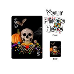 Halloween Candy Keeper Playing Cards 54 (mini)  by Valentinaart