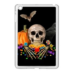 Halloween Candy Keeper Apple Ipad Mini Case (white) by Valentinaart