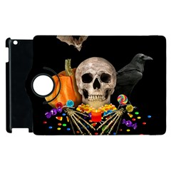 Halloween Candy Keeper Apple Ipad 3/4 Flip 360 Case by Valentinaart