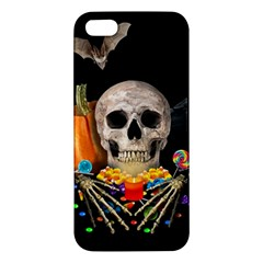 Halloween Candy Keeper Apple Iphone 5 Premium Hardshell Case by Valentinaart