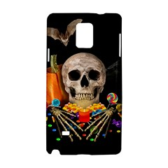 Halloween Candy Keeper Samsung Galaxy Note 4 Hardshell Case by Valentinaart