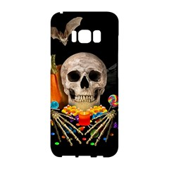 Halloween Candy Keeper Samsung Galaxy S8 Hardshell Case  by Valentinaart