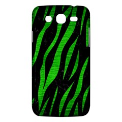 Skin3 Black Marble & Green Brushed Metal Samsung Galaxy Mega 5 8 I9152 Hardshell Case  by trendistuff