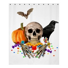 Halloween Candy Keeper Shower Curtain 60  X 72  (medium)