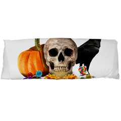 Halloween Candy Keeper Body Pillow Case (dakimakura) by Valentinaart