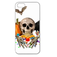 Halloween Candy Keeper Apple Seamless Iphone 5 Case (clear)