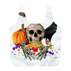 Halloween Candy Keeper Full Print Recycle Bags (l)  by Valentinaart