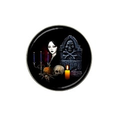 Vampires Night  Hat Clip Ball Marker (10 Pack) by Valentinaart